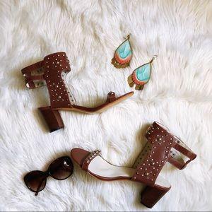 Torrid studded mini-heels